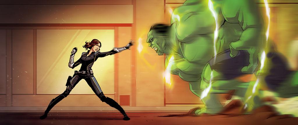 Quake vs Hulk