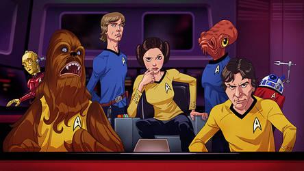 Star Trek Wars by pungang
