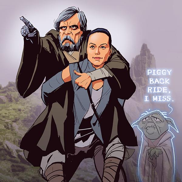 Jedi training by pungang