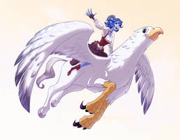 Jester and Hippogriff