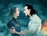 Sylvie and Loki