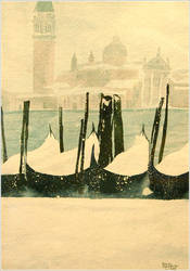 Snowtime in Venice