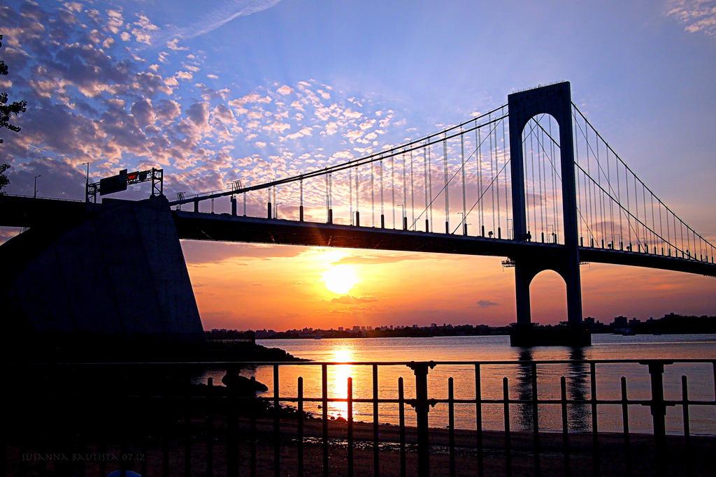 A Sunset Bridge by ArteSusanna