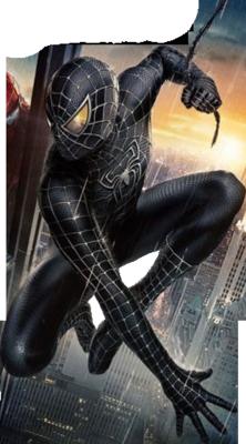black spiderman png by brokenheartdesignz on deviantart