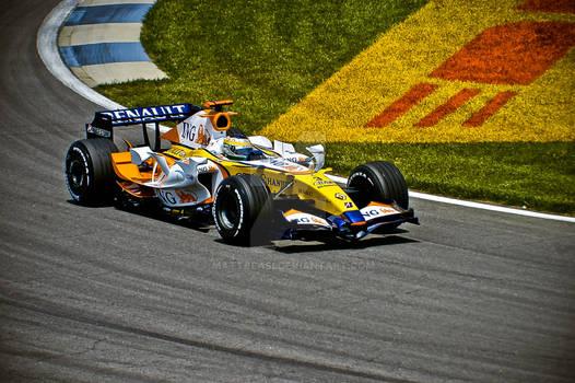 F1 Renault 2007 USGP