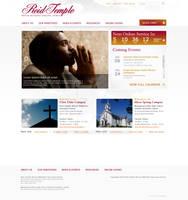 Reid Temple Home Page Design