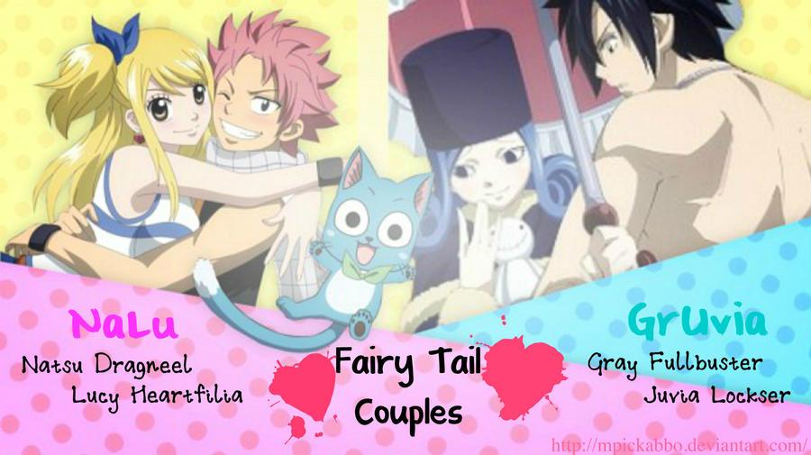 Fairy Tail Couples by mpickabbo on deviantART