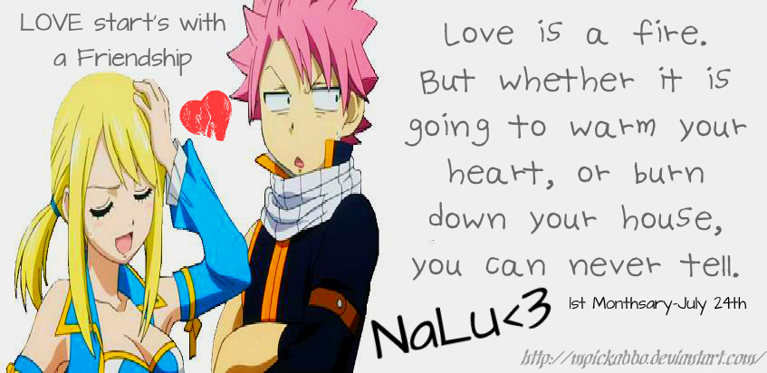 NaLu-Love and Friendship by mpickabbo on DeviantArt