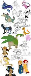 Pokemon Dump I by Jubilations