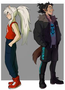 Inuyasha and Koga