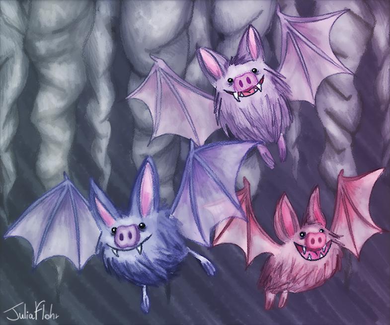 Bats by juliaflohr