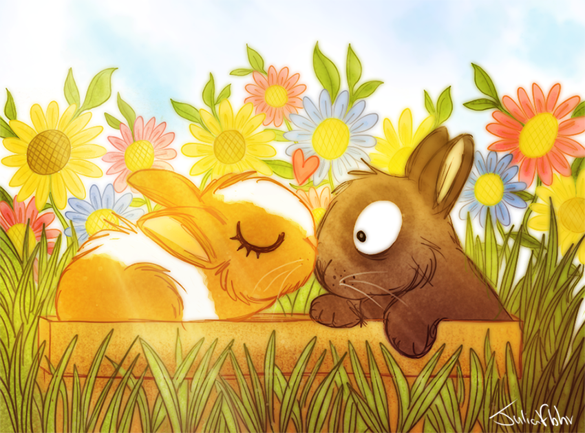 Bunny Love by juliaflohr
