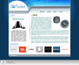 Luxacustica Website by octav-chelaru