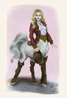 Centaur by manjiana