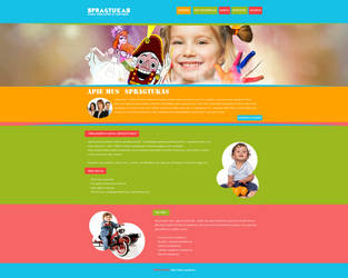 Spragtukas web design, for kids by TreaKArt