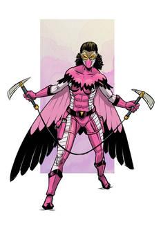 flamingo OC costume redesign