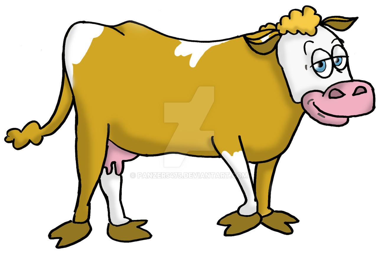 simmental cow cartoon by panzer5475 on deviantart