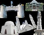 Pakistan monuments famous places png