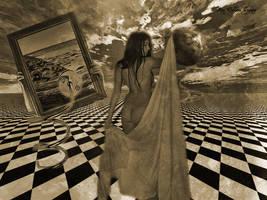 Woman in Surreal by SevdaCicegi