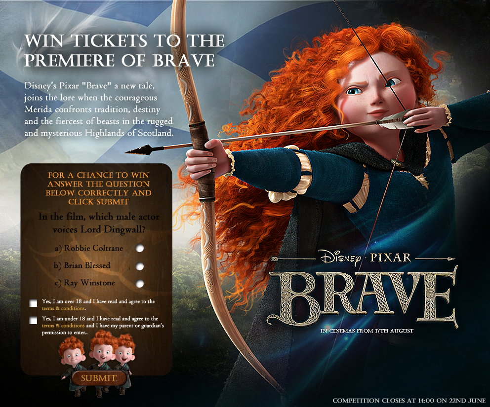 Brave Competition Design by ChubbaART