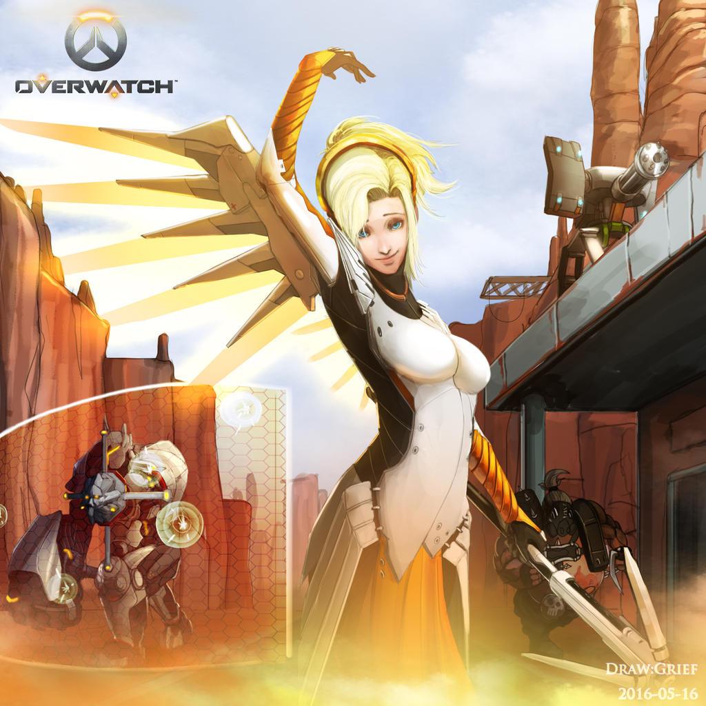 Overwatch Fan Art By Grief3978 On Deviantart-4705