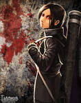 blood: the last vampire - saya by telly0050