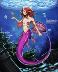 long tail mermaid