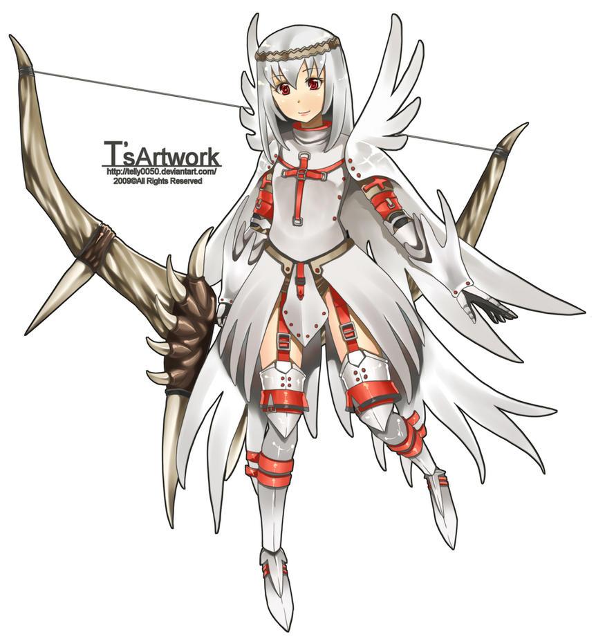 Anime Characters Monster Hunter World : Monster hunter khezu gunner by telly on deviantart
