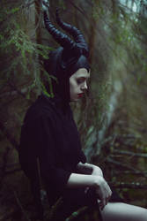 young Maleficent by skooomaCat