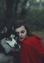 Beast Red Riding Hood by skooomaCat