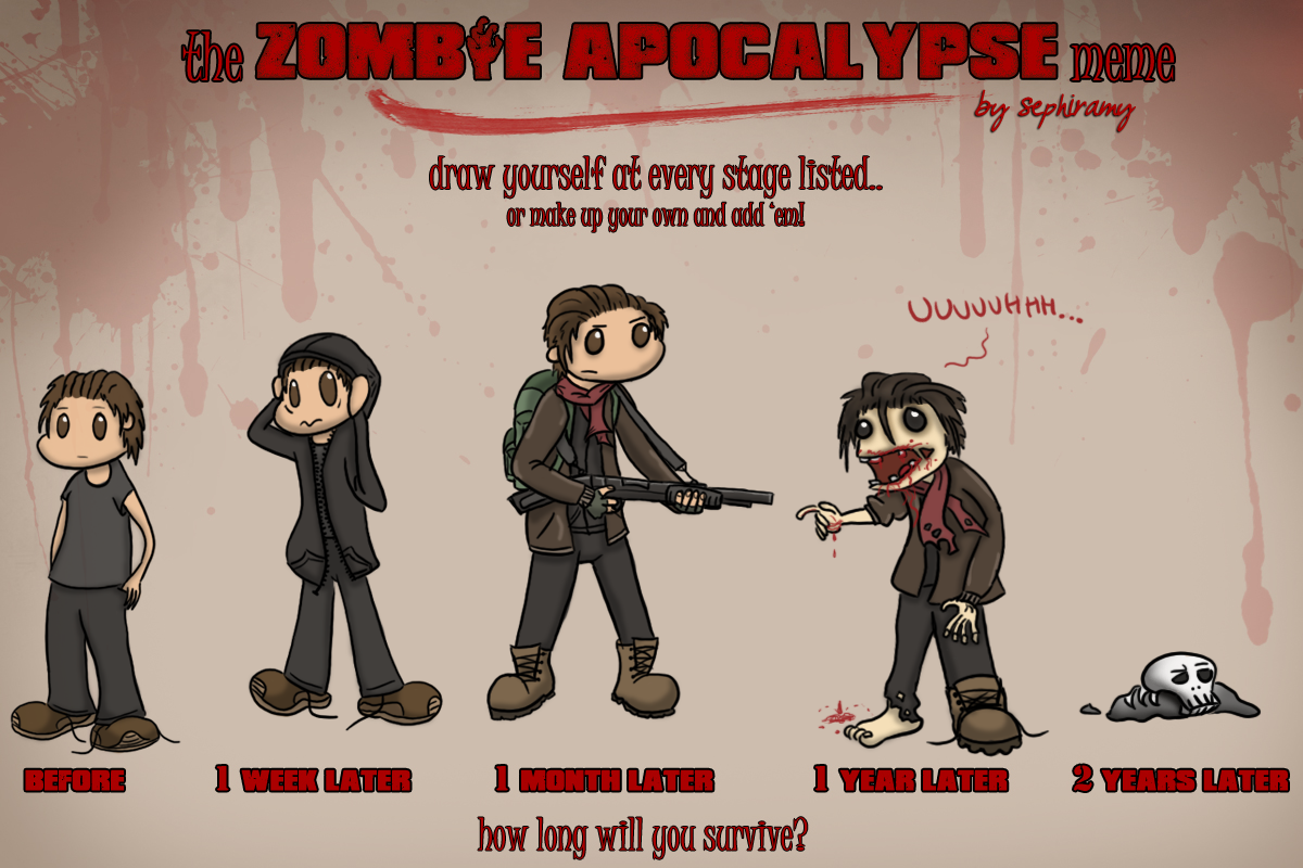 Zombie Apocalypse Meme Funny : Zombie apocalypse meme obm by oggey boggey man memes