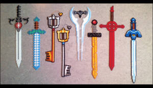 Beads - Swords Collection