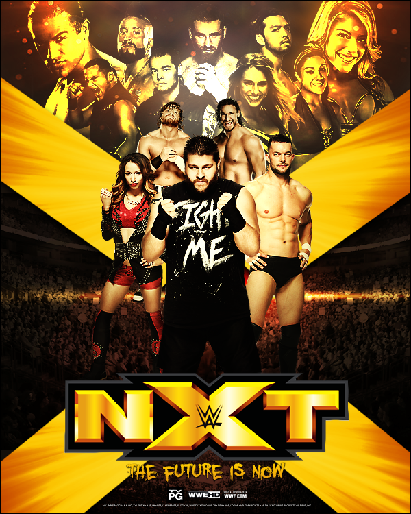 WWE NXT The Future Is Now By Ecku GFX