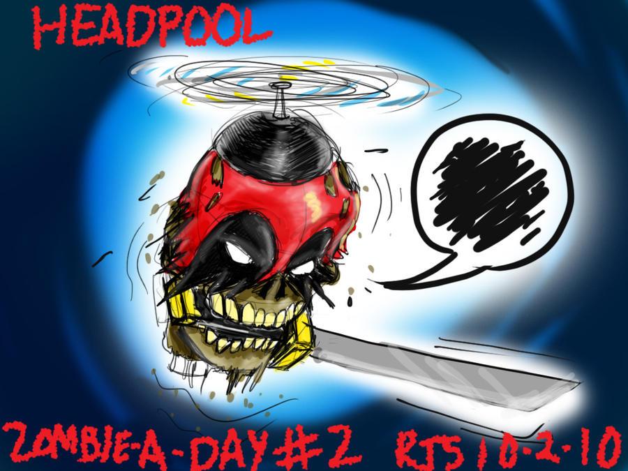 Zad 2 headpool by ronnieraccoon on deviantart for Headpool