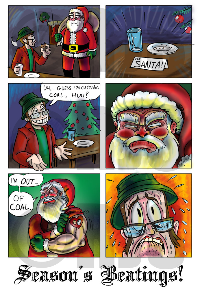 RJS Christmas 2010 by ronnieraccoon