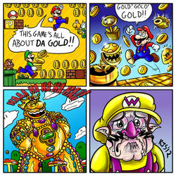 All about da gold by ronnieraccoon