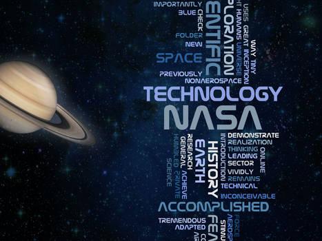 nasa space typography