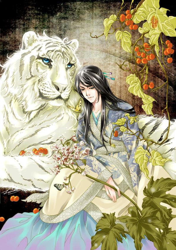 beast king anime illustration