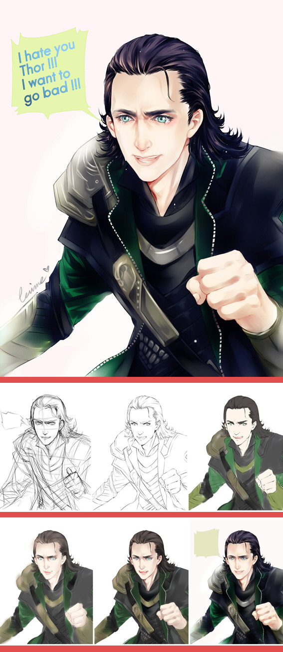 LOKI dont cry by levineh on DeviantArt