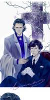 Vampires LOKI  Sherlock
