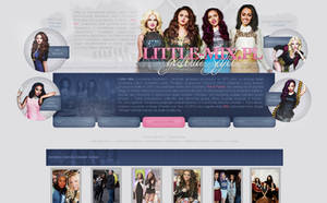 Gallery theme on Little-Mix.pl by infrutescence