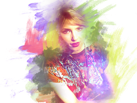 Colourful Deviantart ID with Dianna Agron