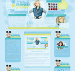 Wordpress theme for ChloeMoretz.pl