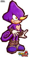 Sonic Battle: Espio by FroggyMudd