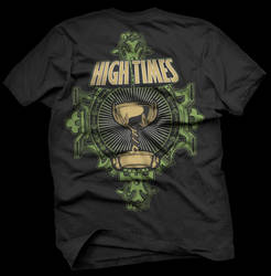 Hightimes T-shirt Design by chipMONKgrafx