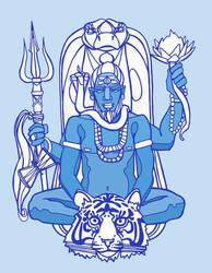 As Shiva I Walk