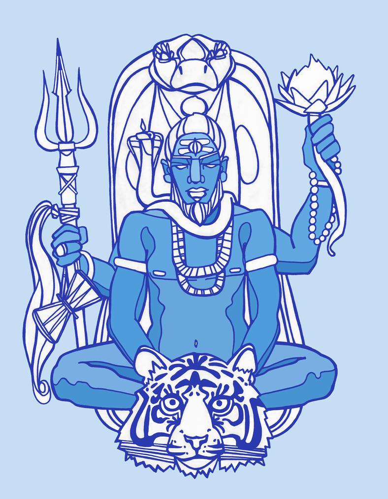 As Shiva I Walk by disalvatron