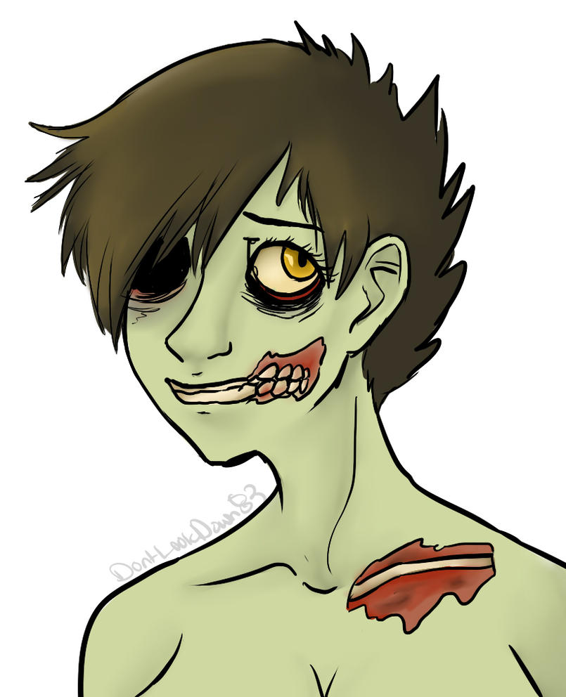 Day 12-Zombie by DeerestHammy