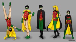 Robins by alshshaen