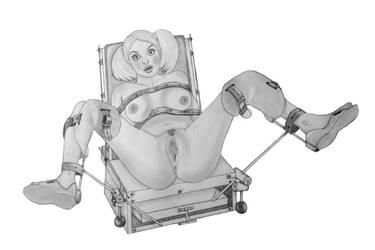 the chair by Huckspad